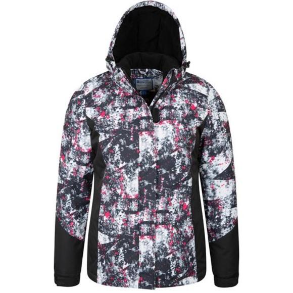 3bb0338e54 Women s Printed Ski Jacket. NWT. Mountain Warehouse